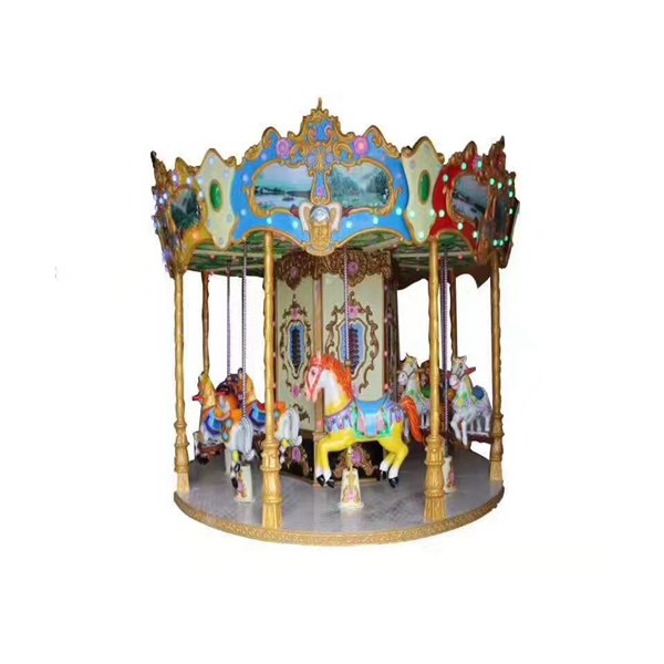 12 players horse carousel