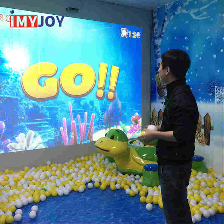 Interactive Soft Play Wall Projector